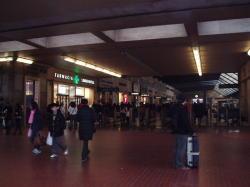 フィレンツェの駅で